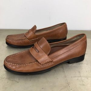 Cole Haan Tan Leather Penny Loafer